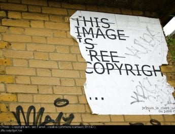 Copyright-free images for use in teaching activities