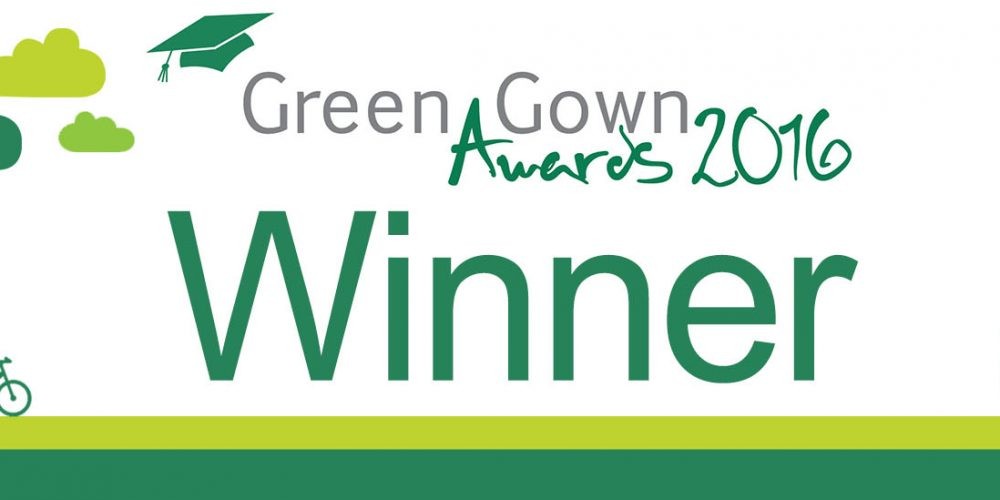 We won a Green Gown Award!