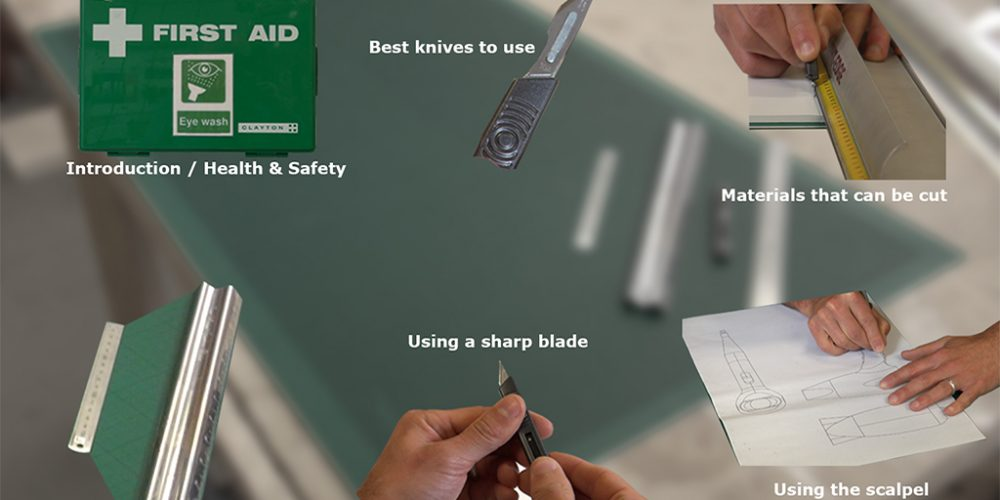 front page of learning resource about scalpels